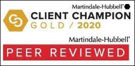 Stephen C. Carter, PC Attorney at Law | Hartwell, GA Martindale-Hubbell Peer Reviewed Client Champion Gold 2020
